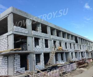 Малоэтажный ЖК «Ижора Сити»: ход строительства корпуса 2 из группы Вконтакте