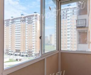 ЖК «Люберцы 2017»: застеклённый балкон в корпусе 22 (фото из группы «Вконтакте»)