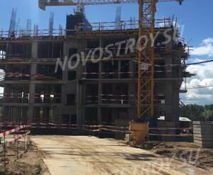 ЖК «Скандинавия»: ход строительства корпуса 4
