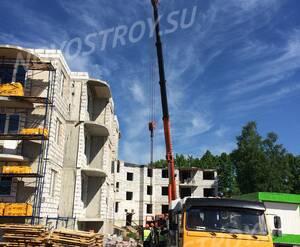 Малоэтажный ЖК «Дубровка на Неве»: ход строительства 1 очереди из группы Вконтакте