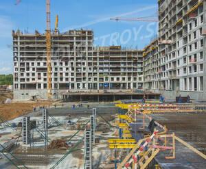 ЖК «Черняховского 19»: ход строительства корпуса 1