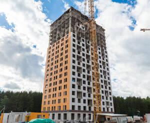 ЖК «Саларьево Парк»: ход строительства корпуса 9