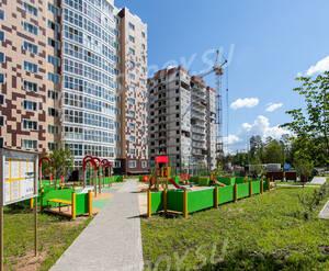 ЖК «Мелодия леса»: детская площадка у корпуса 6