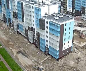ЖК «Чистое небо»: ход строительства дома 3.1