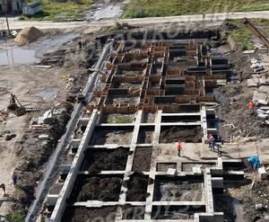 ЖК «Огни Колпино»: ход строительства корпуса 4