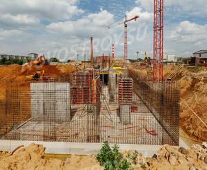 ЖК «Green Park»: ход строительства блок 3