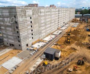 ЖК «Варшавское Шоссе 141»: ход строительства паркинга