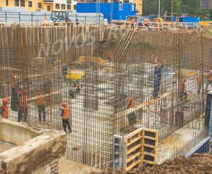 ЖК «Левобережный»: ход строительства корпуса 7.1