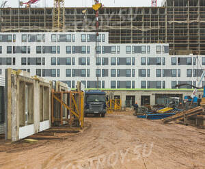 ЖК «Жемчужина Зеленограда»: ход строительства корпуса 9