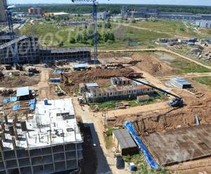 ЖК «Лидер парк»: ход строительства корпуса 5