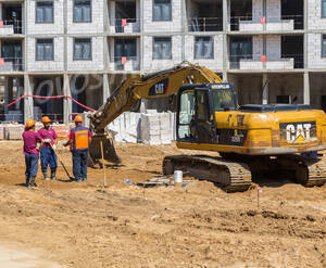 ЖК «Оранж Парк»: ход строительства корпуса 3
