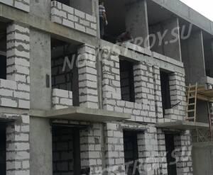 Малоэтажный ЖК «Ижора Сити»: ход строительства корпуса 2 из официальной группы Вконтакте