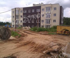 Малоэтажный ЖК «Болтино»: ход строительства корпуса 10.1