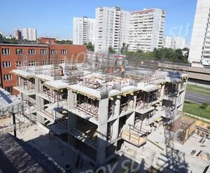 МФК «Барбарис»: ход строительства корпуса 1