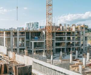 МФК «Спутник»: ход строительства