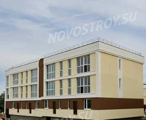 Малоэтажный ЖК «Малина»: ход строительства корпуса 1.3