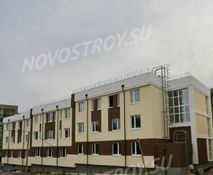 Малоэтажный ЖК «Малина»: ход строительства корпуса 1.4