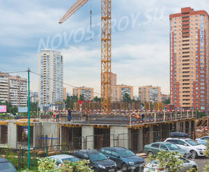ЖК «Новокуркино»: ход строительства корпуса 66