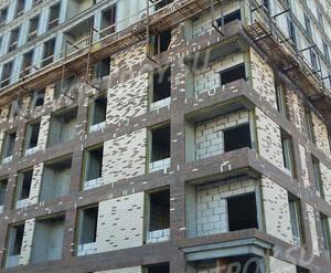 МФК «Комплекс апартаментов «Смольная,44»: ход строительства корпуса 1