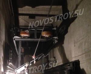 ЖК «Новый город»: установка лифтового оборудования