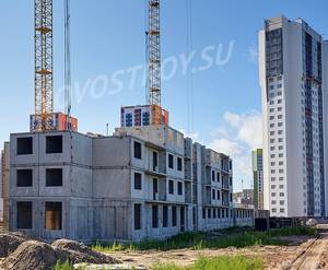 ЖК «Шуваловский»: ход строительства корпуса 13