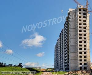 ЖК «Шуваловский»: ход строительства корпуса 14