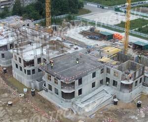 ЖК «Триумф Парк»: ход строительства детского сада из официальной группы Вконтакте