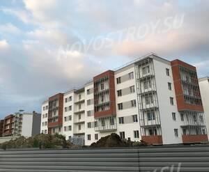 Малоэтажный ЖК «Новый Петергоф»: ход строительства корпуса 4.5 из группы дольщиков