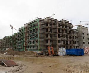 Малоэтажный ЖК «Новое Сертолово»: ход строительства корпуса 22