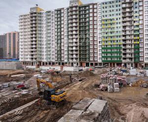 ЖК «GreenЛандия 2»: ход строительства корпуса 6