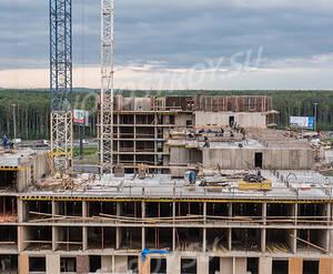 ЖК «Весна-3»: ход строительства корпуса 2