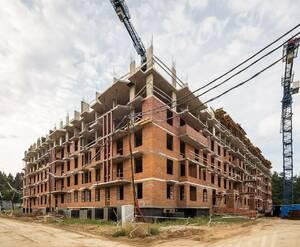 ЖК «Видный город»: ход строительства дома 4