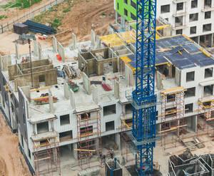 ЖК «Новокуркино»: ход строительства корпуса 1.2