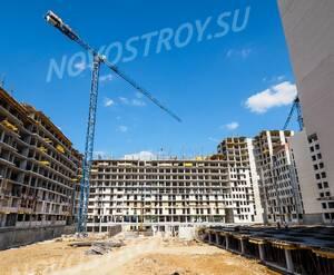 ЖК «Отрада»: ход строительства корпуса 9