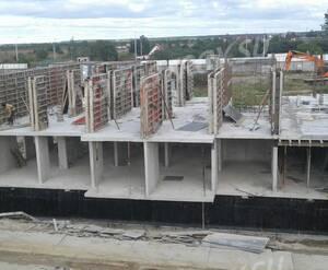 Малоэтажный ЖК «Ижора Сити»: ход строительства корпуса 4 из официальной группы Вконтакте