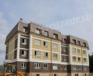 Малоэтажный ЖК «Театральный парк»: ход строительства корпуса 41
