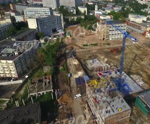 МФК «Резиденции архитекторов»: скриншот видеообзора