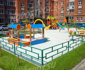 ЖК «Московский» (Красная горка 3): детская площадка