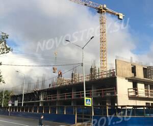 «WINGS апартаменты на Крыленко»: ход стро-ва