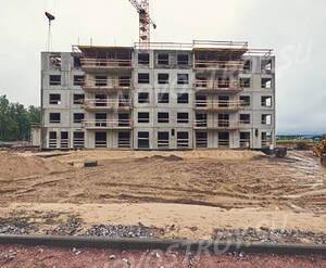 ЖК «Gröna Lund»: ход строительства корпуса №2.1