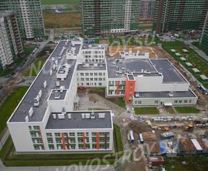 ЖК «GreenЛандия»: ход строительства школы с официального форума ЖК Greenландия