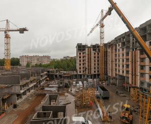 ЖК «Ломоносовъ» (Петродворцовый): ход строительства 1 очереди