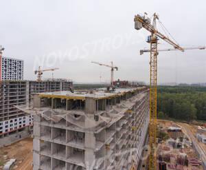 ЖК «Саларьево Парк»: ход строительства корпуса №7.1