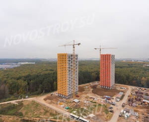ЖК «Саларьево Парк»: ход строительства корпуса №9