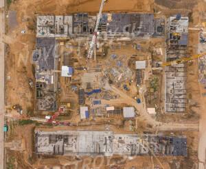 ЖК «Саларьево Парк»: ход строительства корпуса №13.1,13.2,13.3