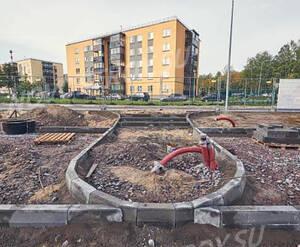 ЖК «Gröna Lund»: ход строительства 5 очереди, корпус 2.1