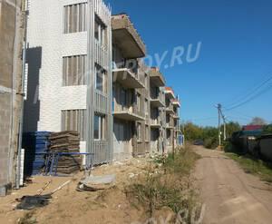 Малоэтажный ЖК «Пеликан»: ход строительства корпуса №1