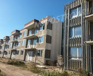 Малоэтажный ЖК «Пеликан»: ход строительства корпуса №2