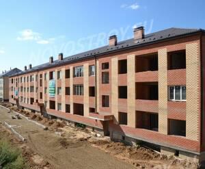 Малоэтажный ЖК «Терра»: ход строительства дома №3