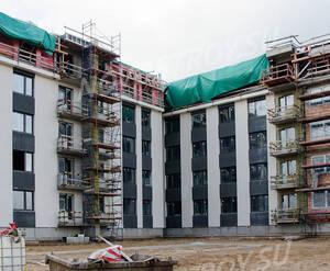 Малоэтажный ЖК «Inkeri»: ход строительства 3 очереди